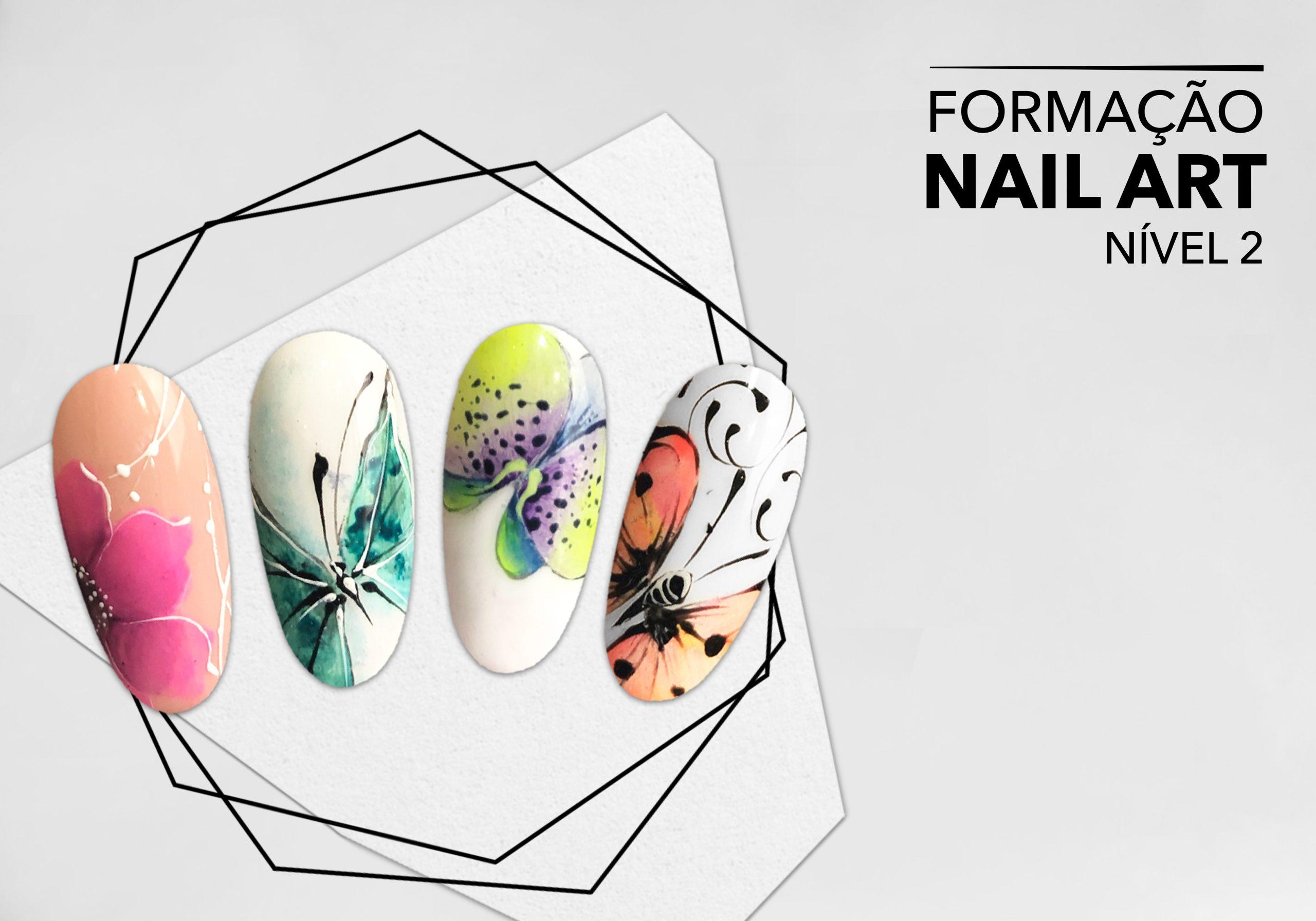 Formação Certificada Nail Art Nível 2
